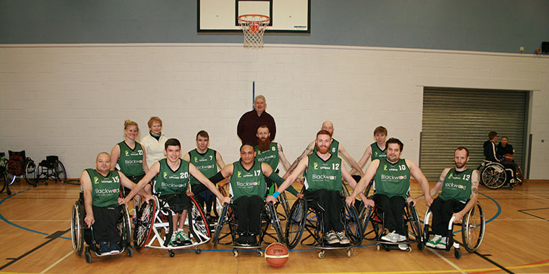 Lothian Phoenix Wheelchair Basketball Team